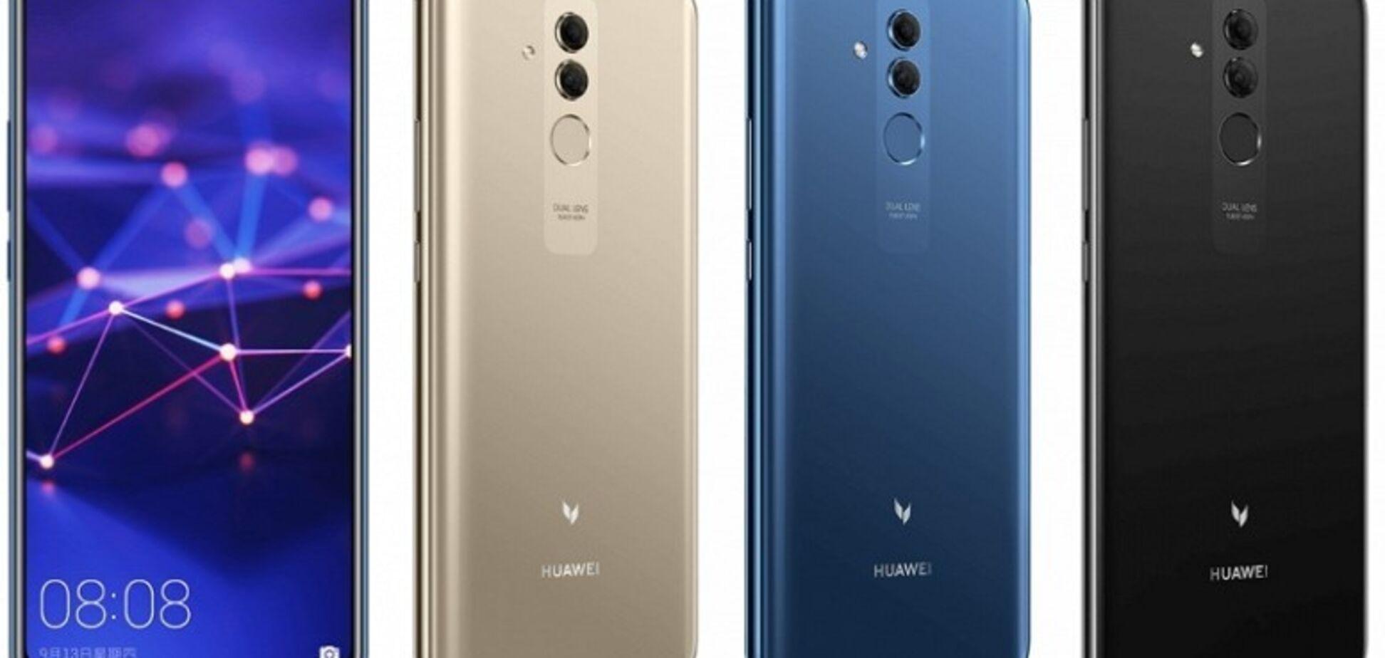 Опубліковані офіційні зображення Huawei Mate 20: названо ціну