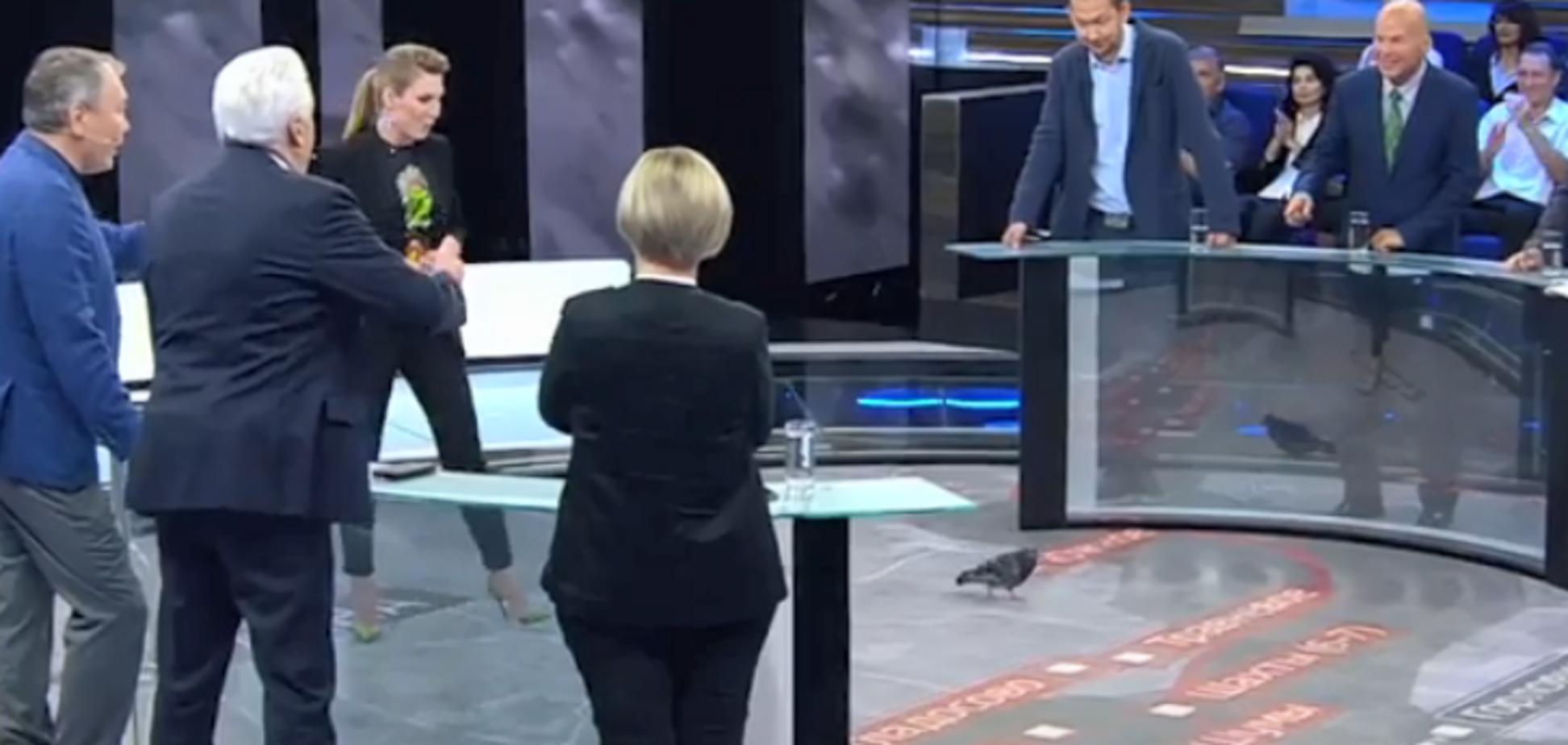 'Голубь мира': на росТВ испугались 'зловещего' знамения об Украине
