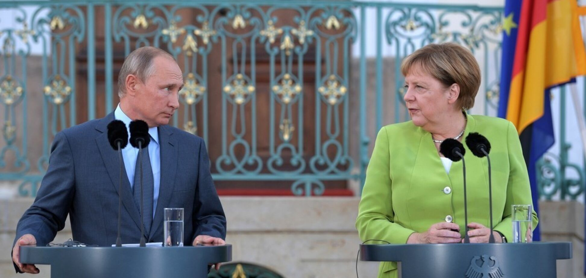 Во встрече Путина с Меркель нашли тревожный для Украины момент