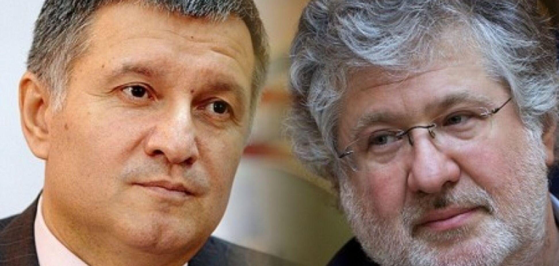 Аваков и Коломойский тайно встретились в Италии