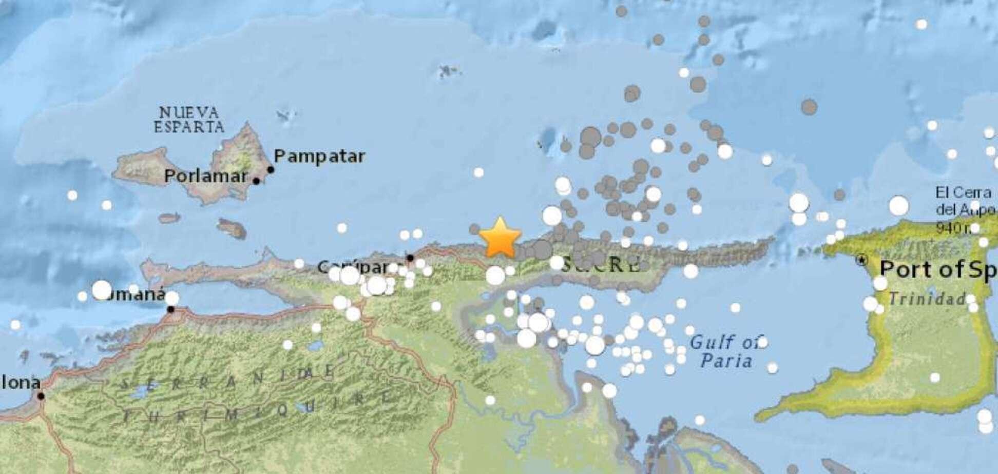 Оголошена евакуація: у Венесуелі стався потужний землетрус