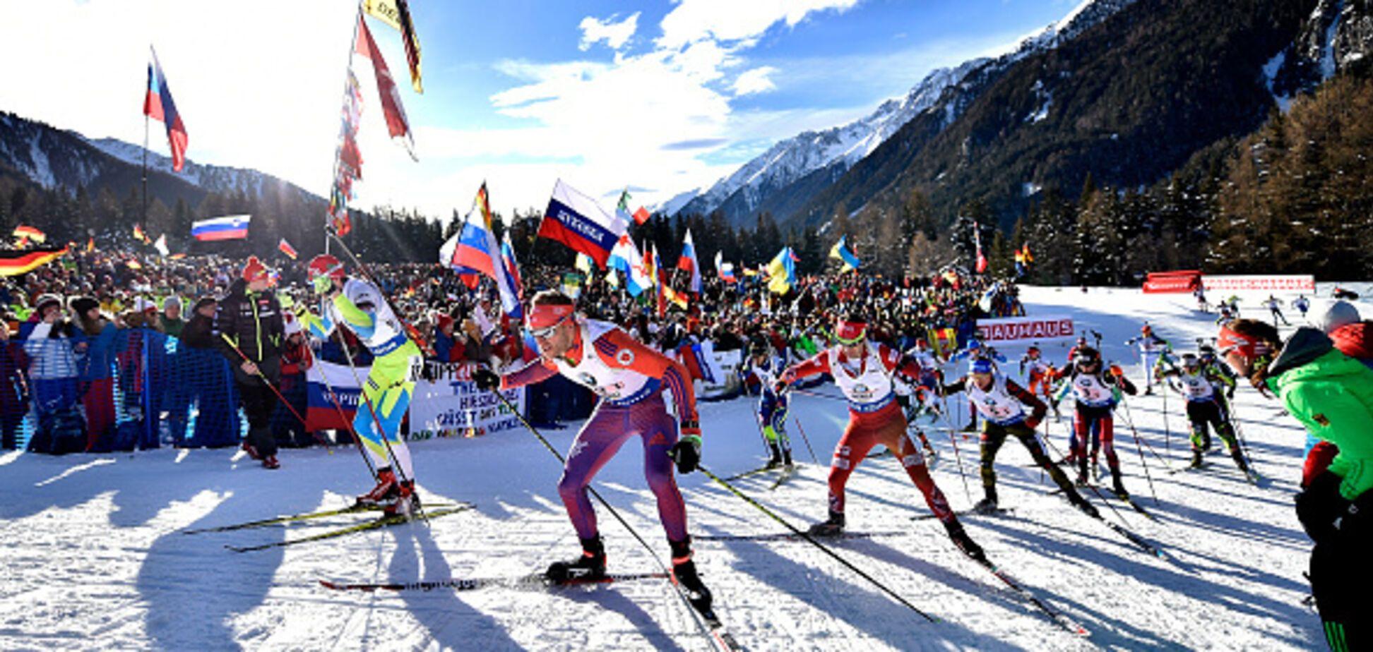 СМИ: российских биатлонистов отстранят от Кубка мира
