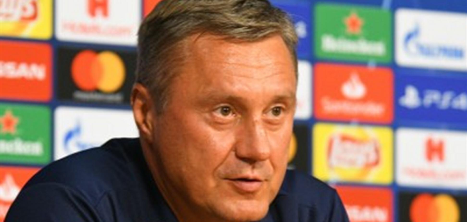 Хацкевич прокоментував поразку 'Динамо' від 'Аякса'