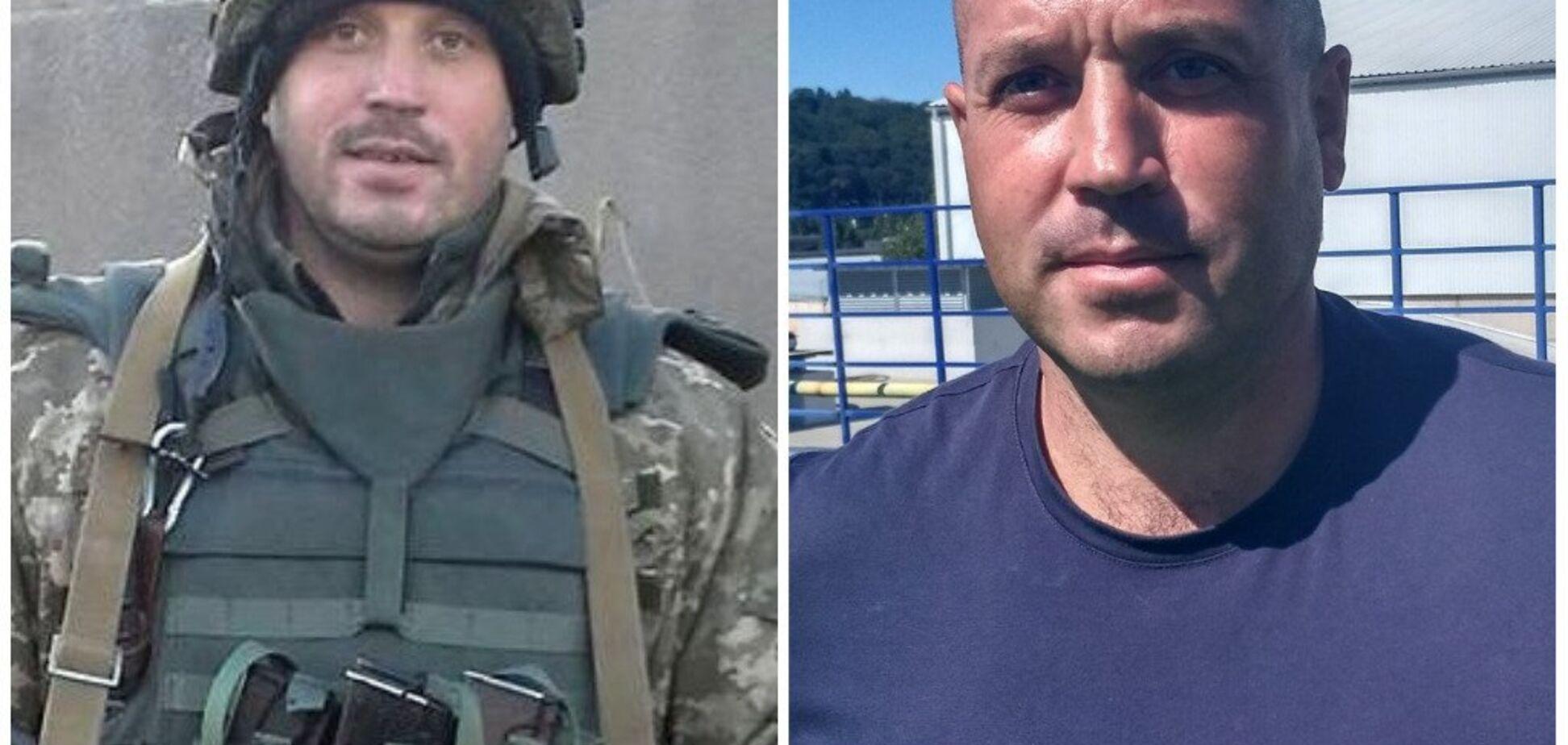 Олег Гервас кіборг
