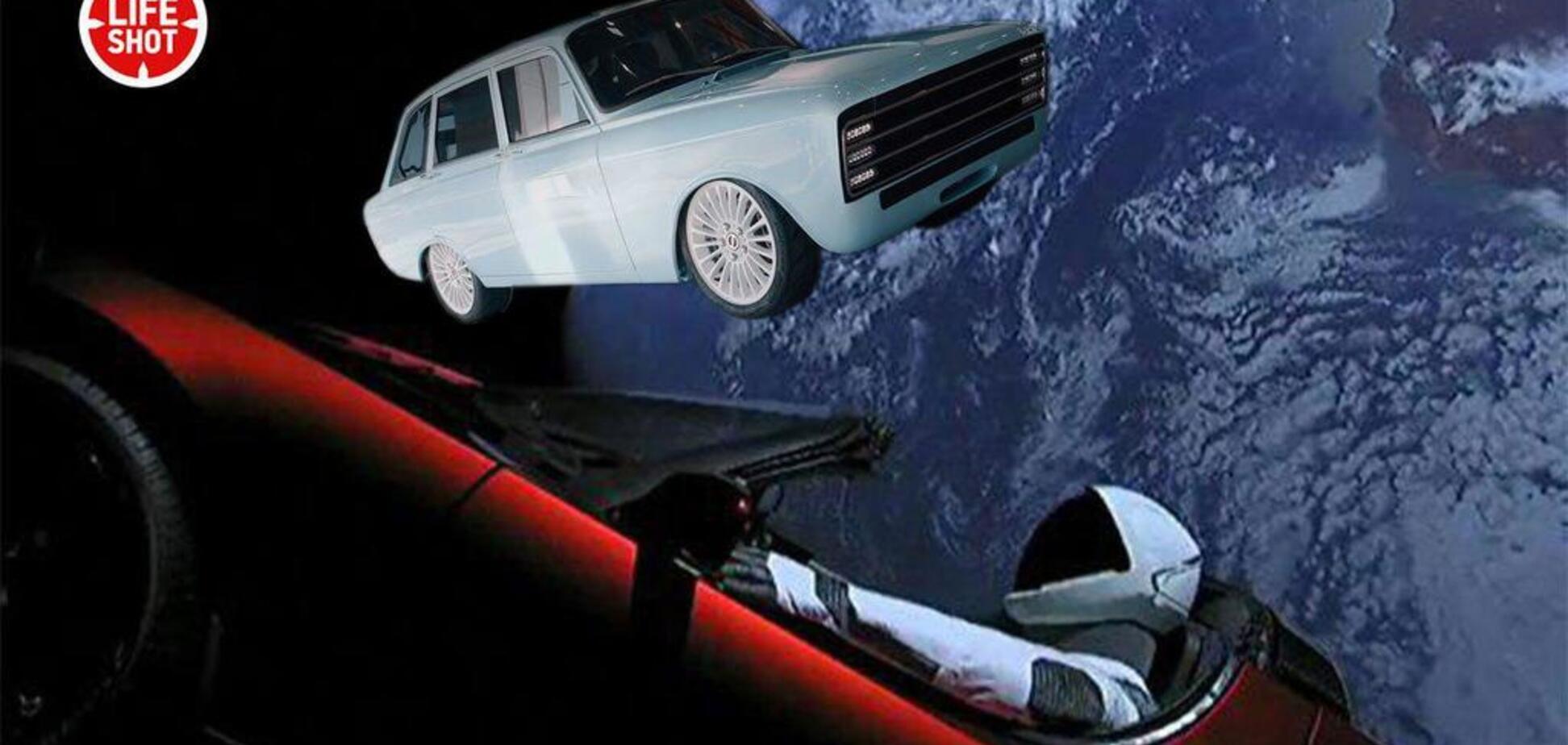'И за рулем робот Игорек': 'Калашников' рассмешил сеть 'конкурентом' Tesla