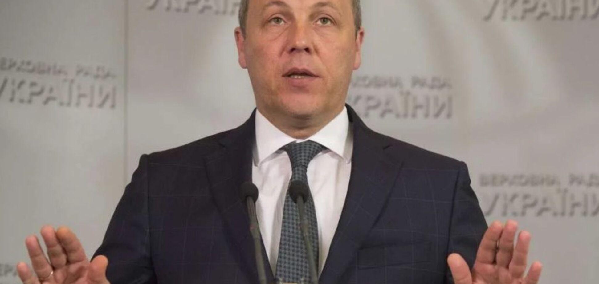 ''Хочет уничтожить Украину'': Парубий указал на угрозу России