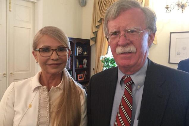 Юлия Тимошенко и Джон Болтон