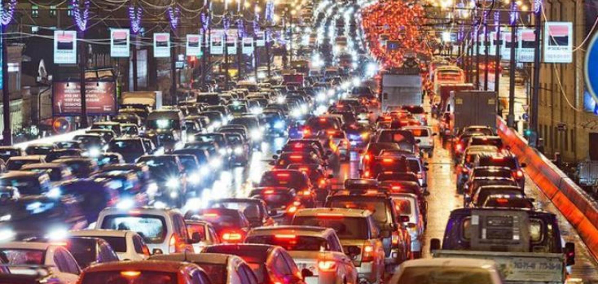 Культура вождения в Киеве безобразная. Даже штрафы не спасают