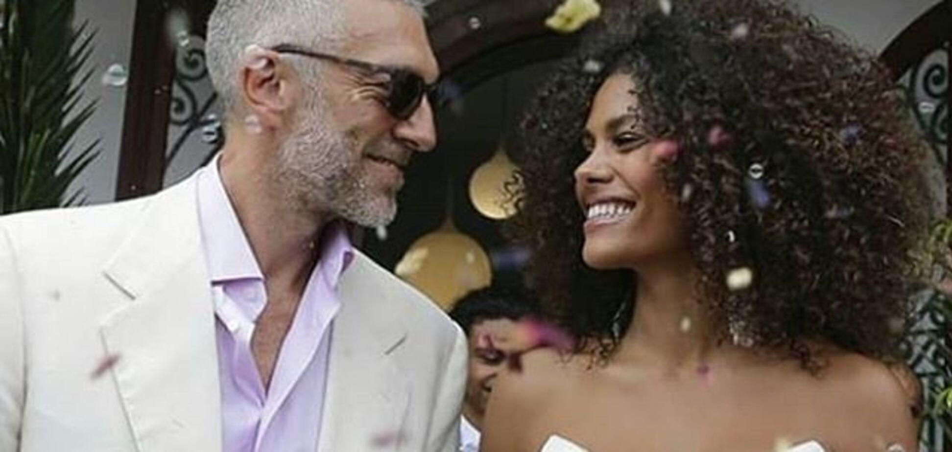 Актор Венсан Кассель одружився з моделлю, молодшою на 30 років: яскраві фото з весілля