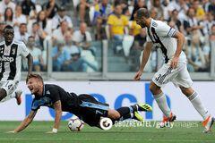 'Ювентус' добыл уверенную победу над 'Лацио' в чемпионате Италии
