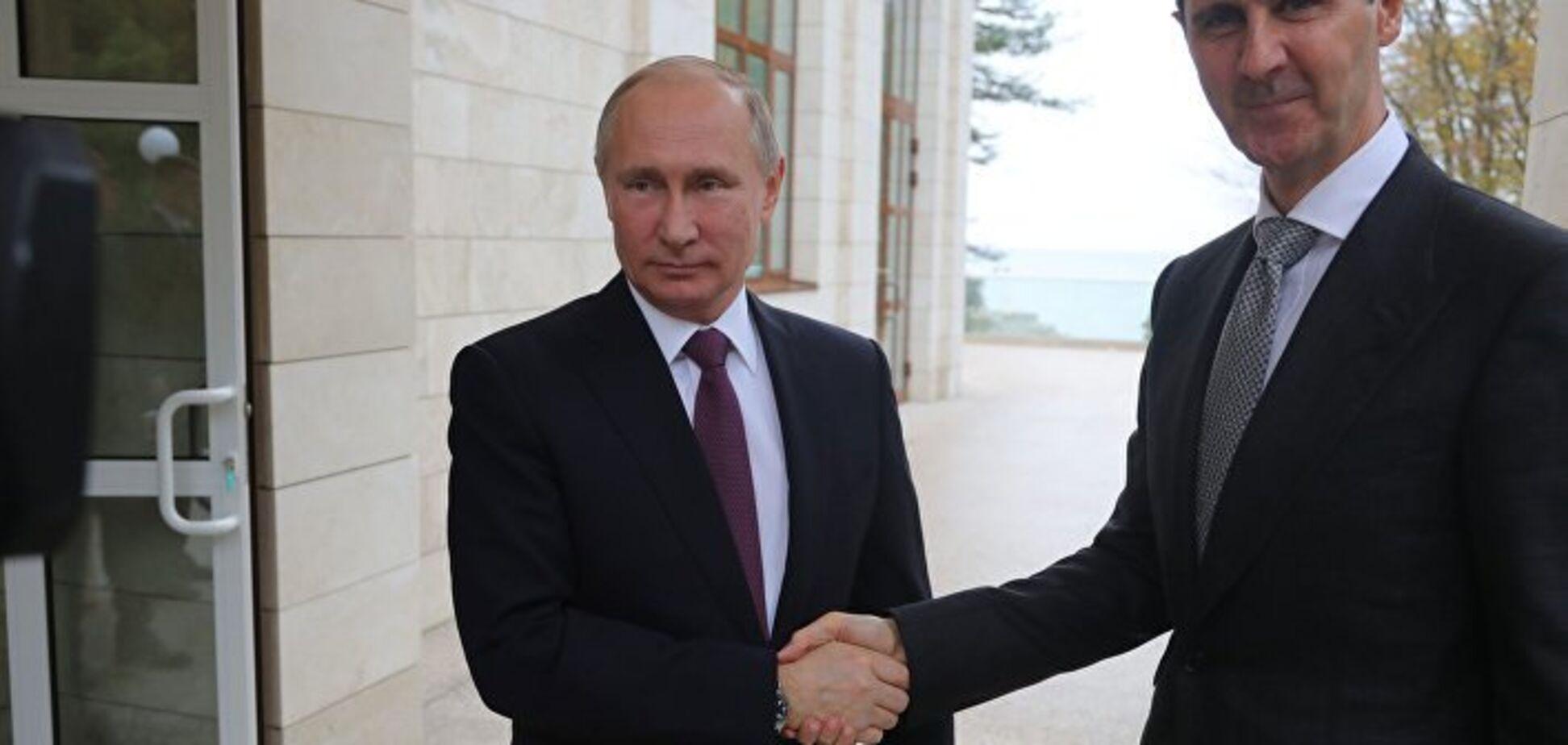 Путин с Асадом  оправдываться стали прежде, чем что-либо натворили
