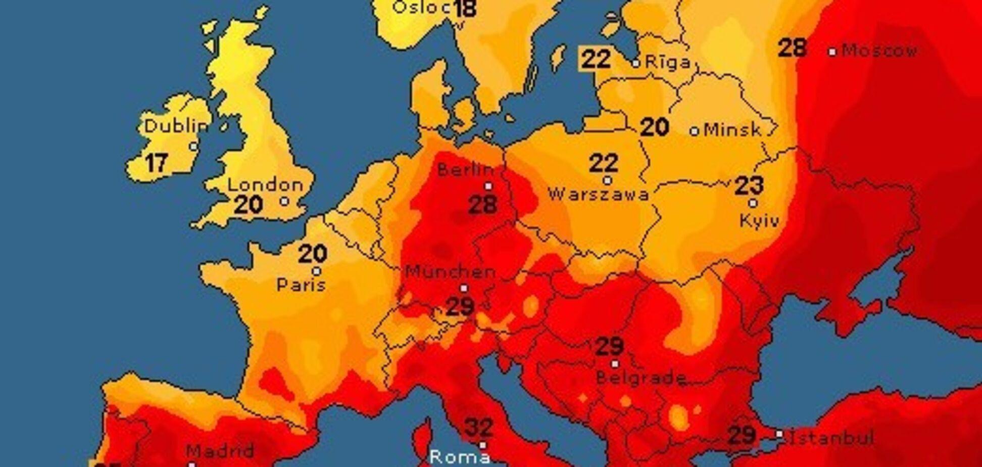 Від спеки до шквалів: синоптик уточнила прогноз погоди по Україні