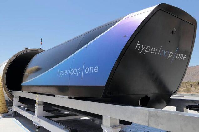 Капсула компании Virgin Hyperloop One