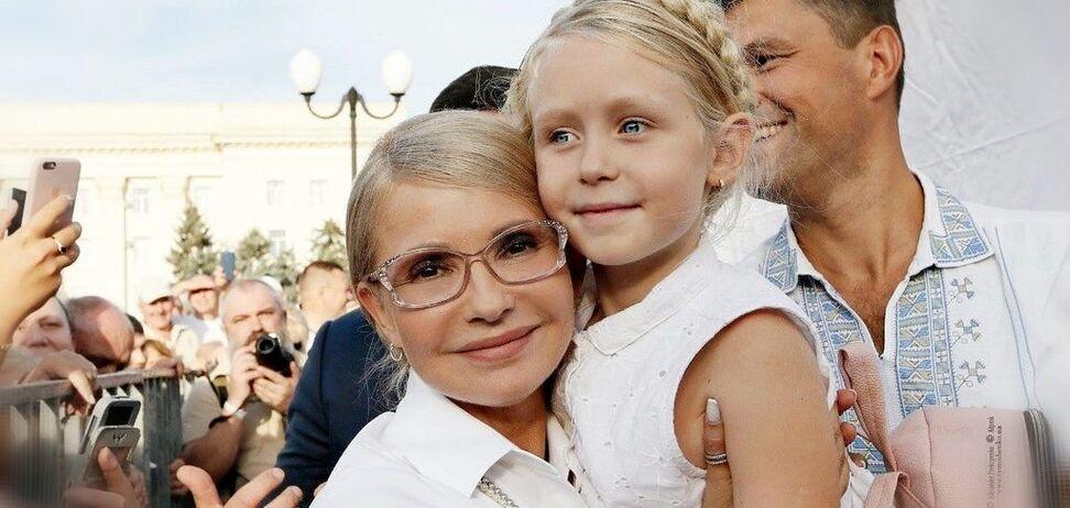 Мечта Юли, которая сбылась: названная в честь Тимошенко девочка встретилась со своей именитой тезкой