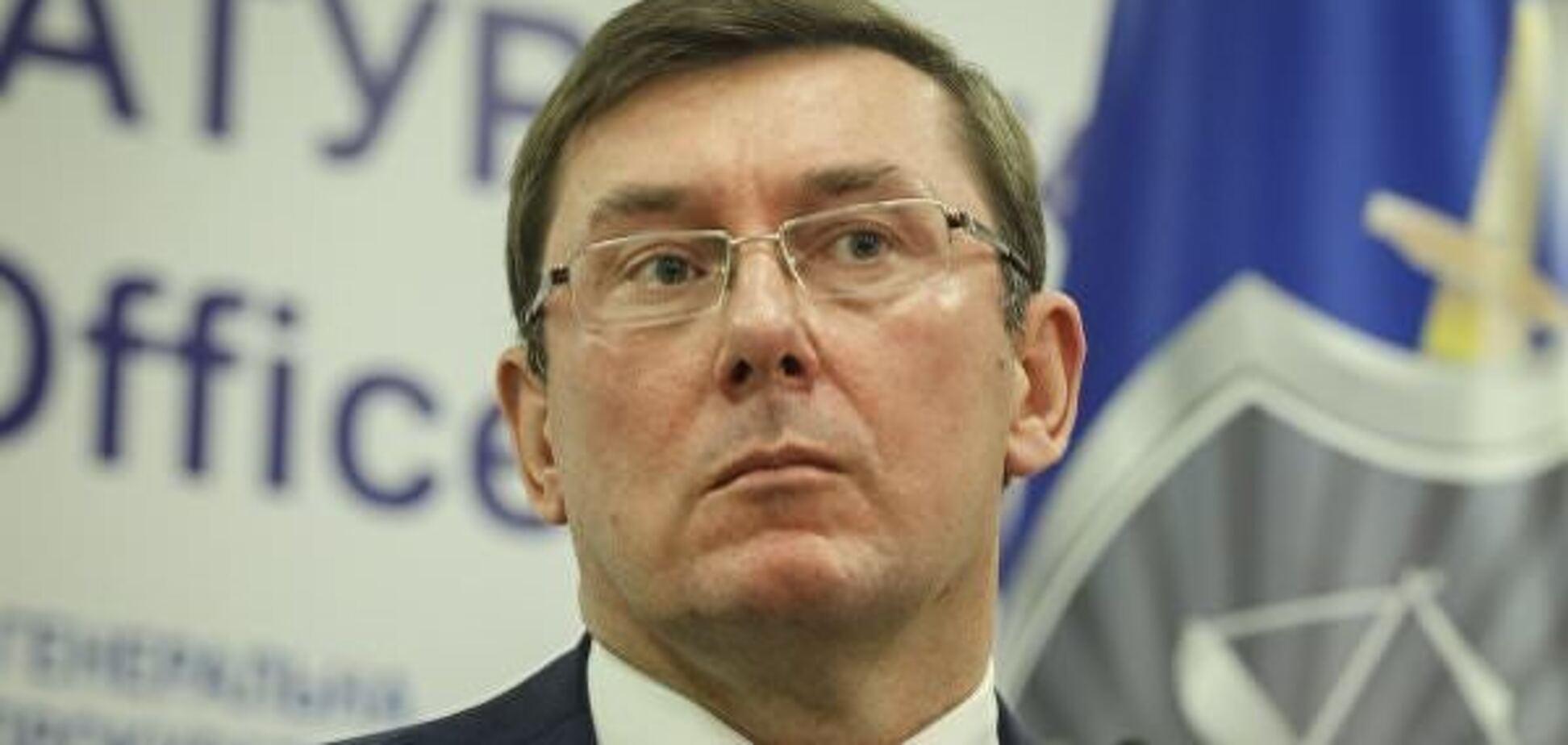 'Уничтожил оборонку Украины': стало известно, с кого хочет снять неприкосновенность Луценко