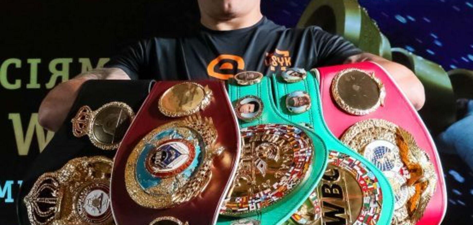 Усик отримав приємний бонус від WBA