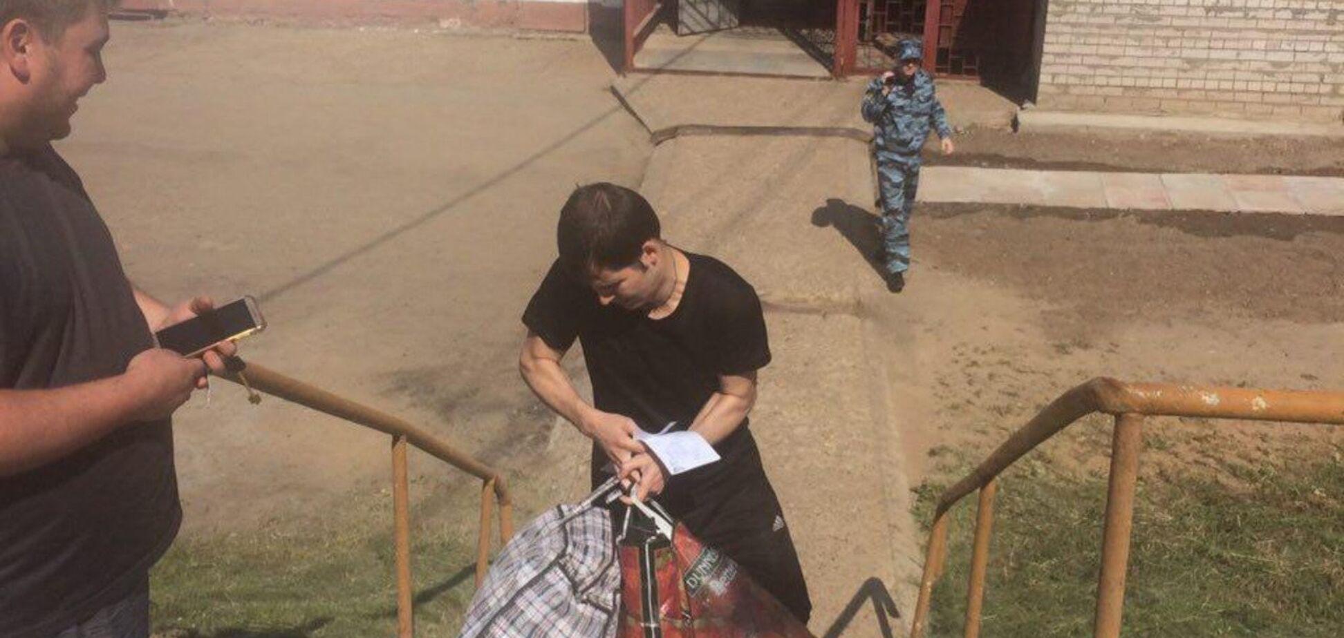 Український в'язень Кремля вийшов на свободу: всі подробиці