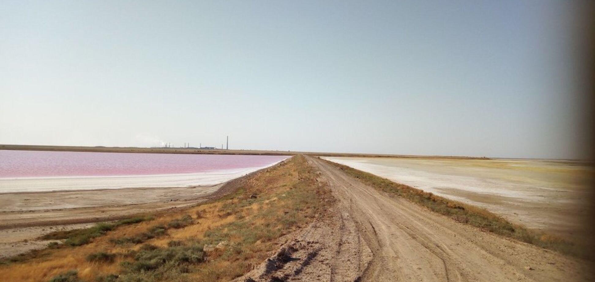 'Даже озеро стало алым': какое бедствие накрыло Крым и как люди спасаются от 'химатаки'