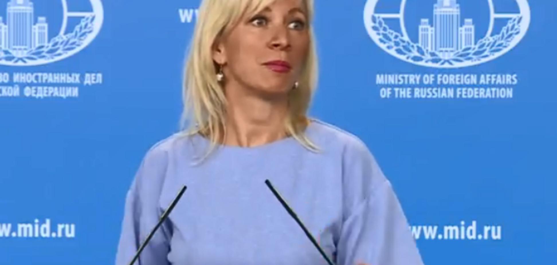'Слава Україні?' Український журналіст роздратував Захарову провокаційним питанням