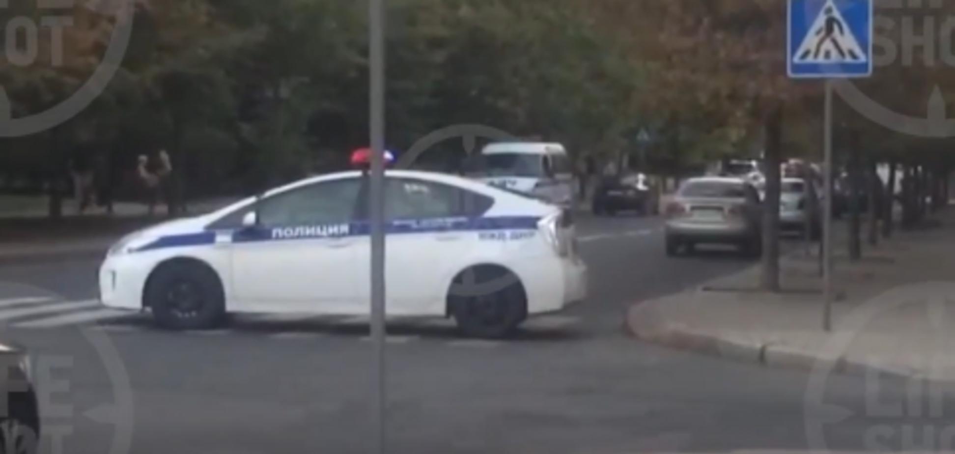 З'явилося перше відео з місця вбивства Захарченка