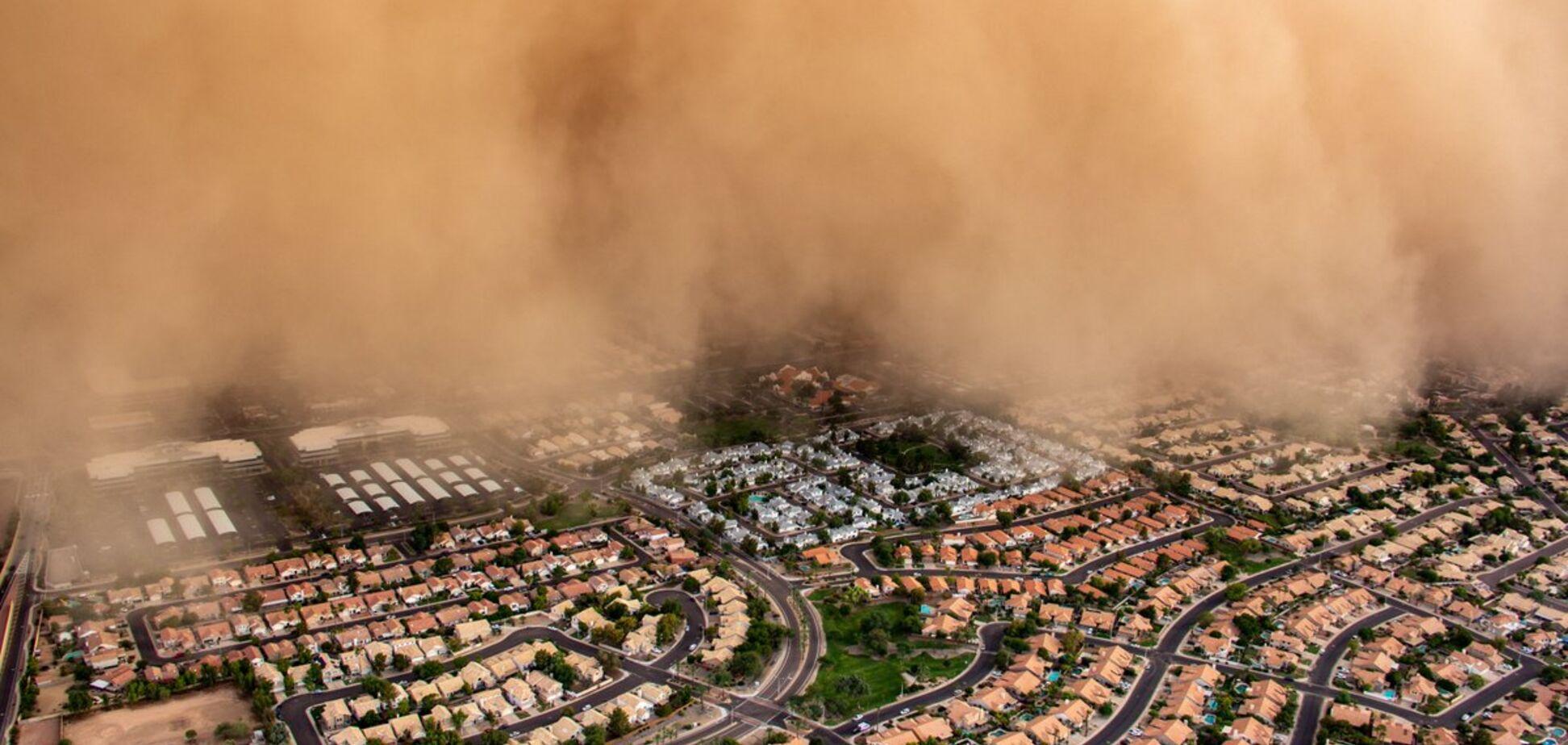 'Я в аду?' На США обрушилась мощная стихия: фото и видео апокалипсиса