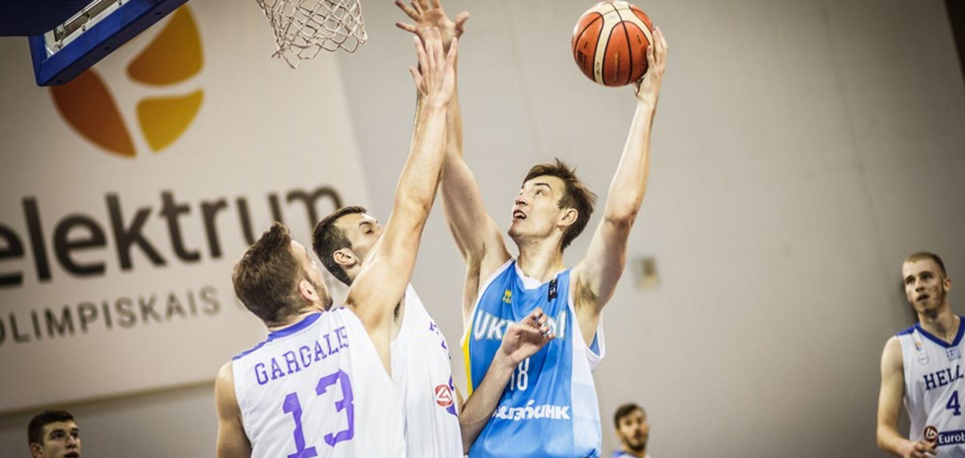 Збірна України з баскетболу U-18 вилетіла до Дивізіону B