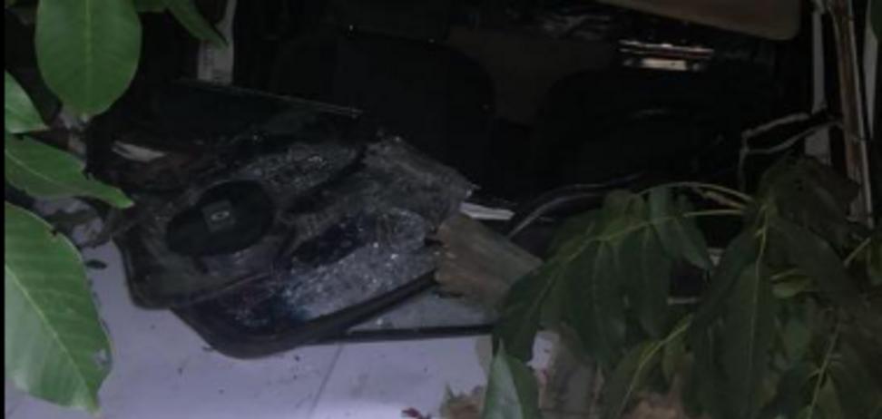 На Херсонщине пьяный военком на авто насмерть сбил молодых супругов: фото 18+