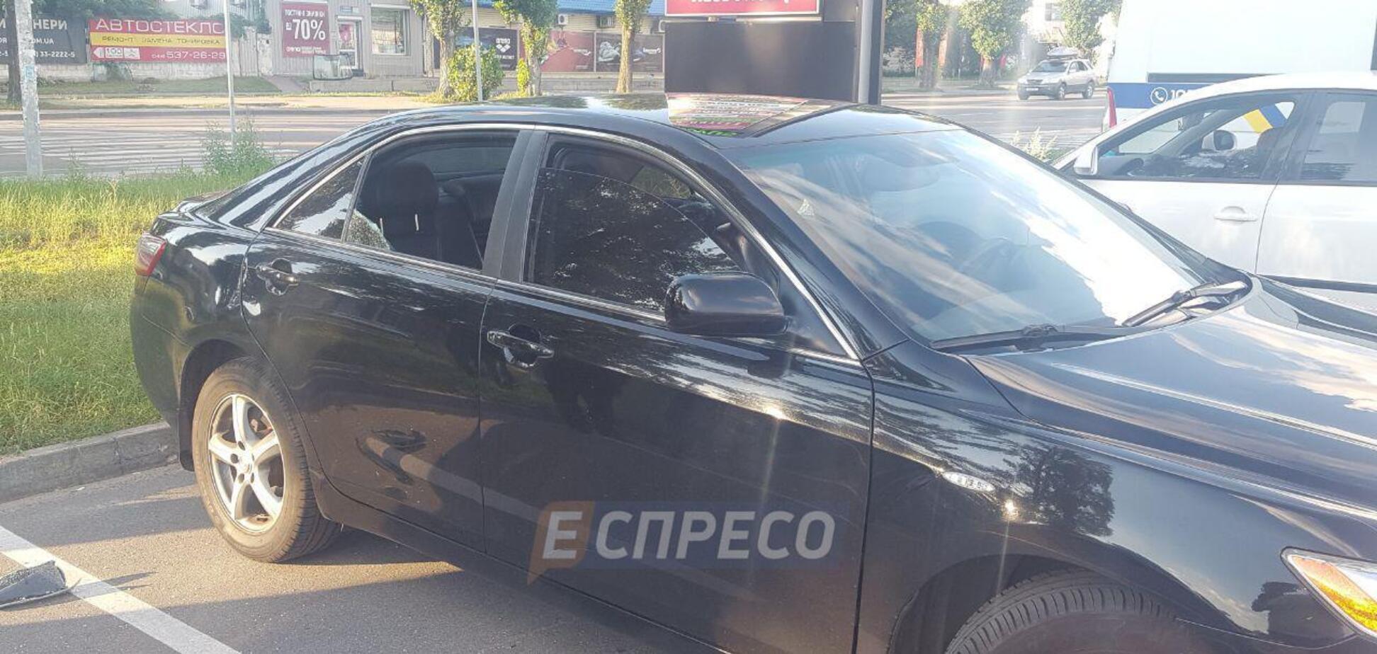 У Києві обстріляли автомобіль і викрали 2 млн: введено план 'Перехоплення'