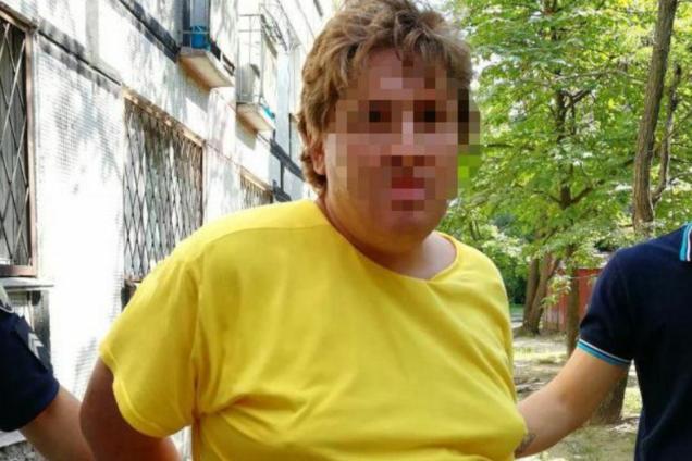 """В Днепре поймали извращенца """"за работой"""": фотофакт"""
