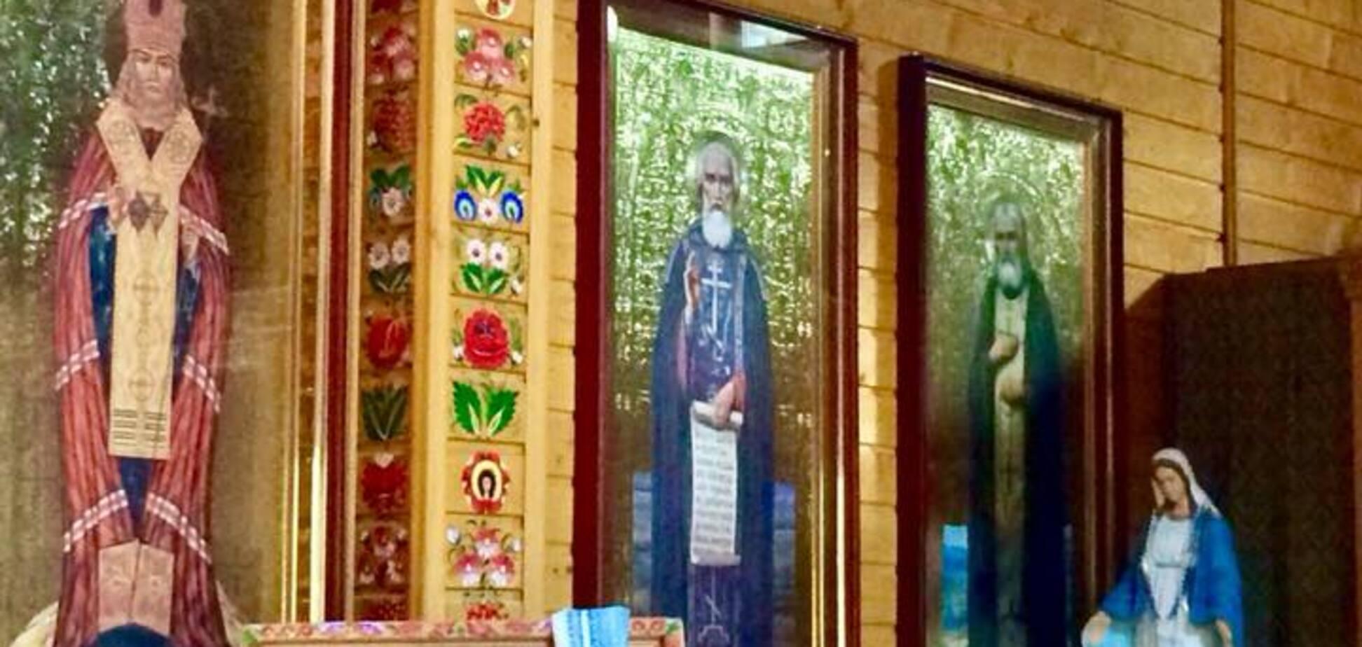 'Выдерживаем стиль': как в храме Днепра переборщили с росписью