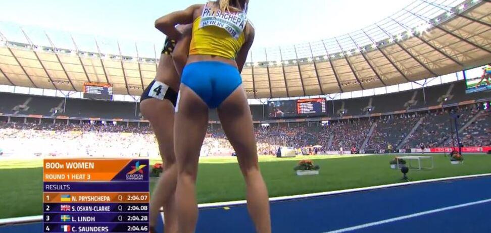 Українська легкоатлетка шляхетно повелася на ЧЄ