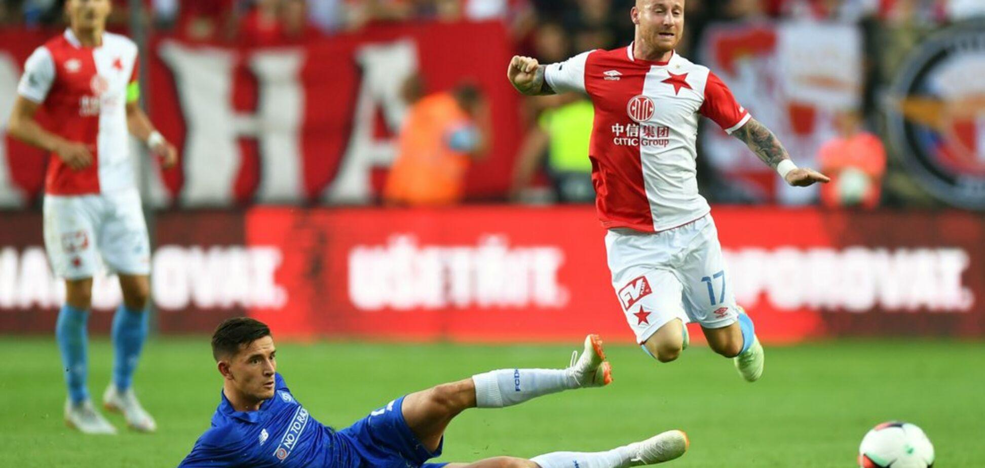 'Динамо' с ничьи в Чехии стартовало в Лиге чемпионов