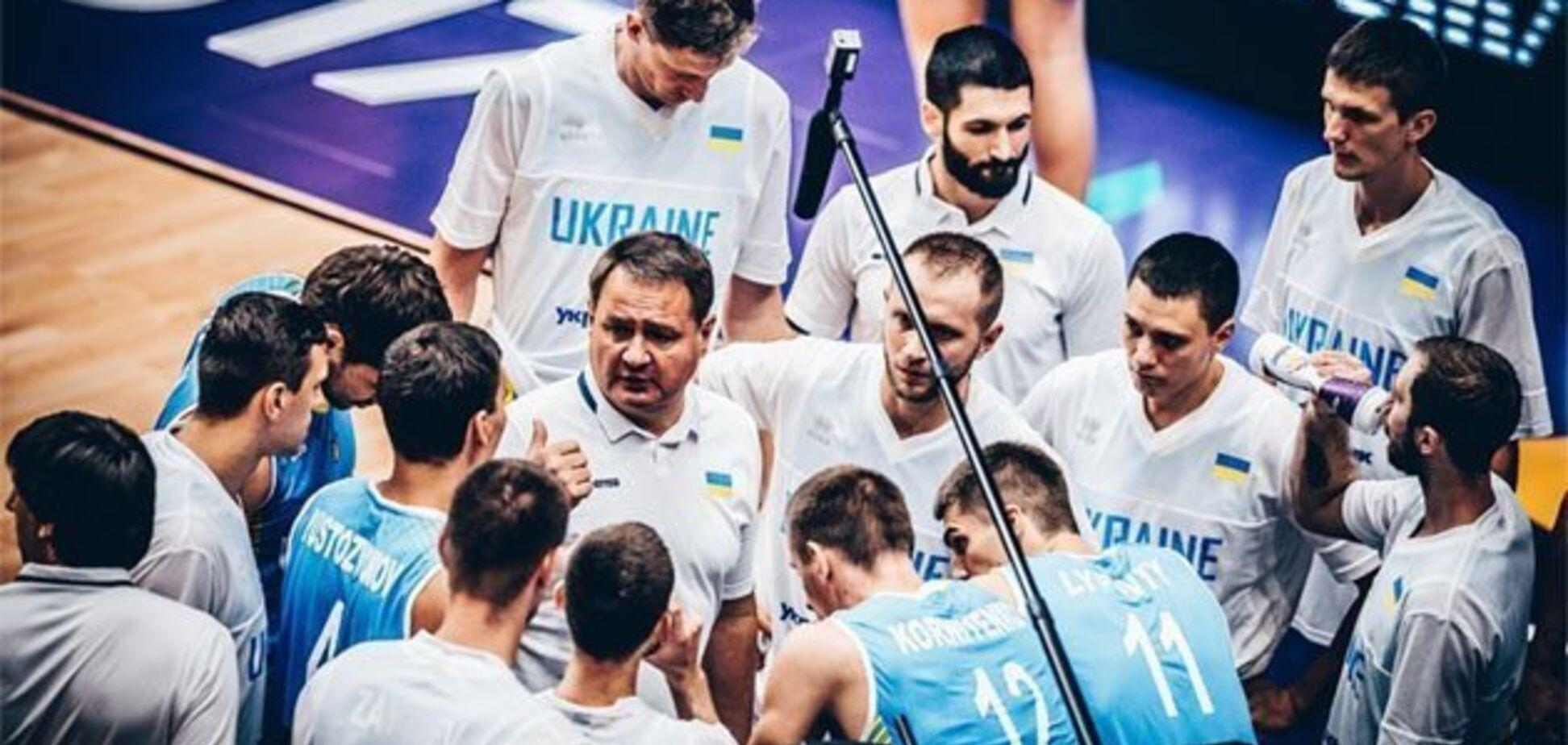 Самый сильный в истории: назван состав сборной Украины по баскетболу