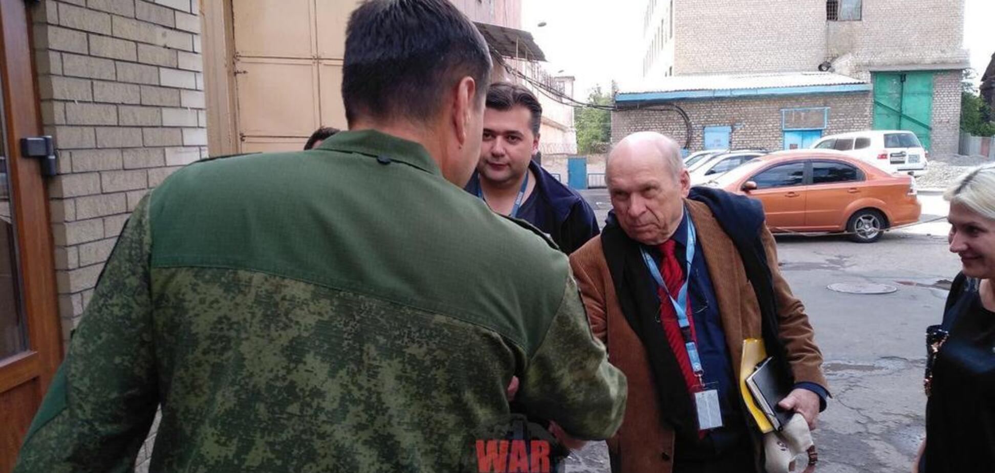 ''ДНР'' вперше пустила ОБСЄ до українських заручників