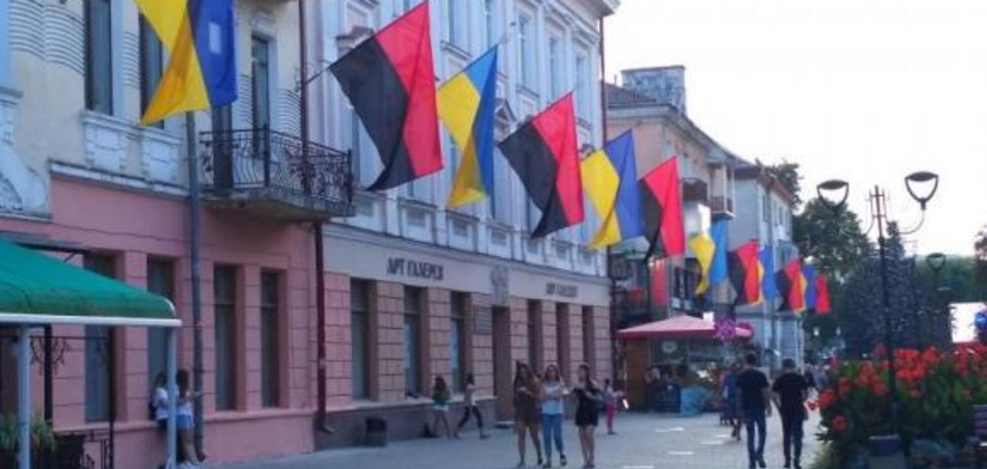 'Почему прапор УПА?' Россиянин восхитился украинским городом