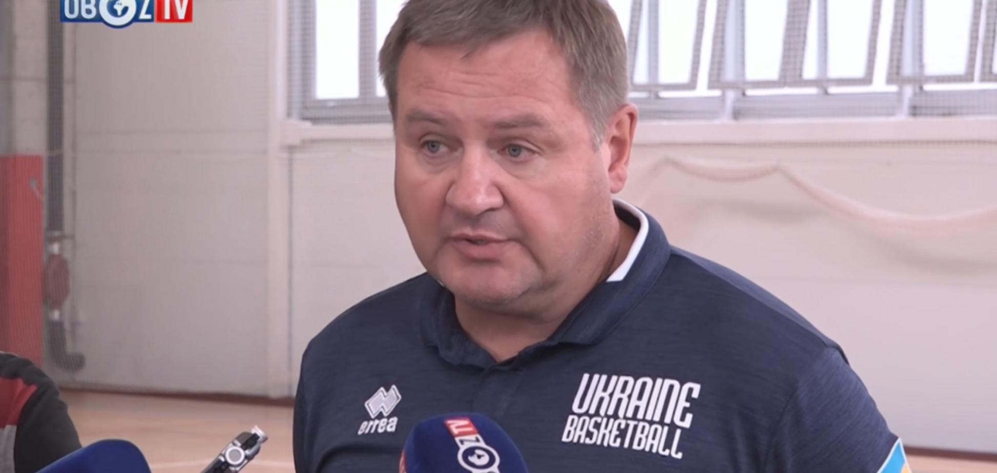 Збірна України з баскетболу зібрала найсильніший склад