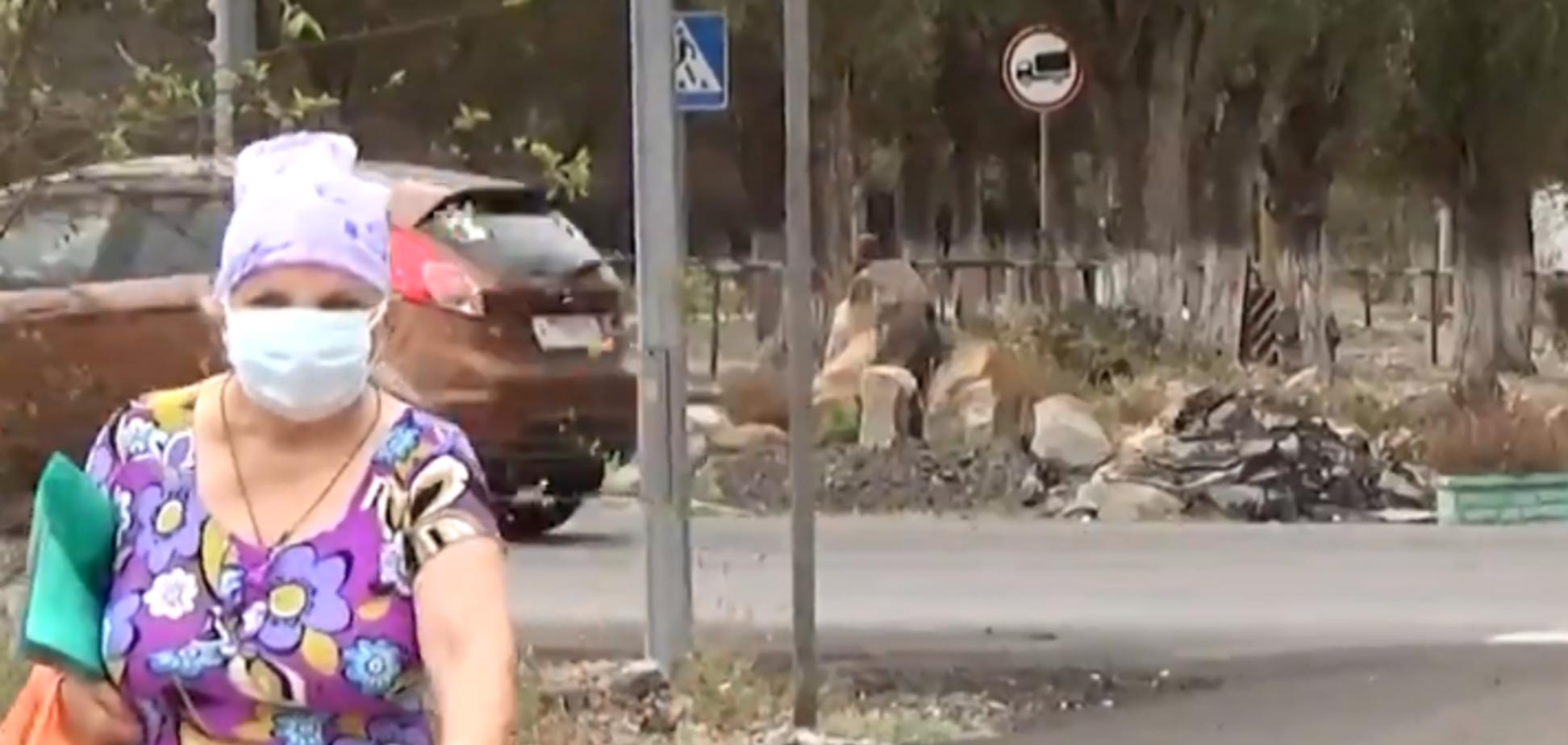 ''Такого еще не видели!'' Опубликовано видео после ''химатаки'' в Армянске