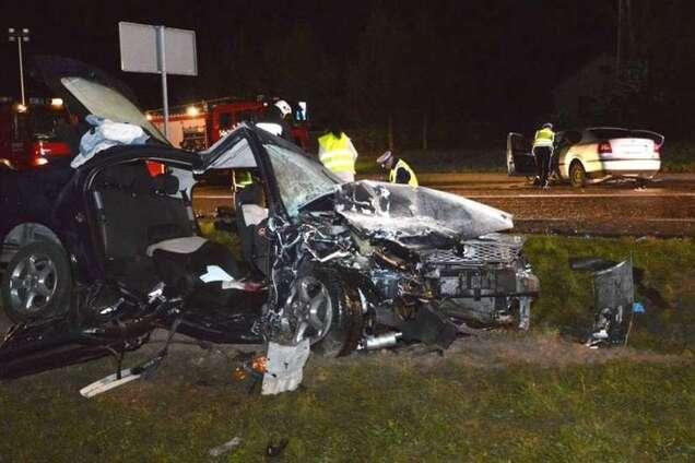 У Польщі зіткнулися два авто з українцями