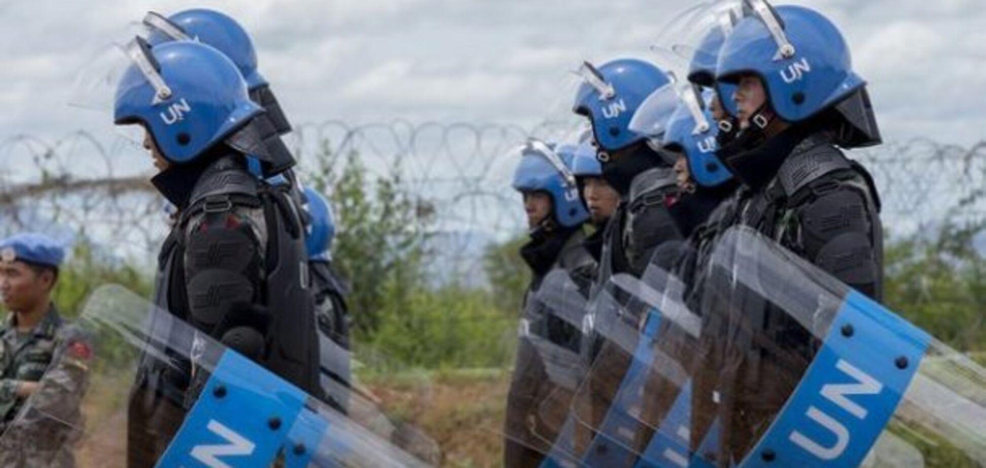 Украина может получить миротворцев на Донбасс 'в обход' России: стал известен способ