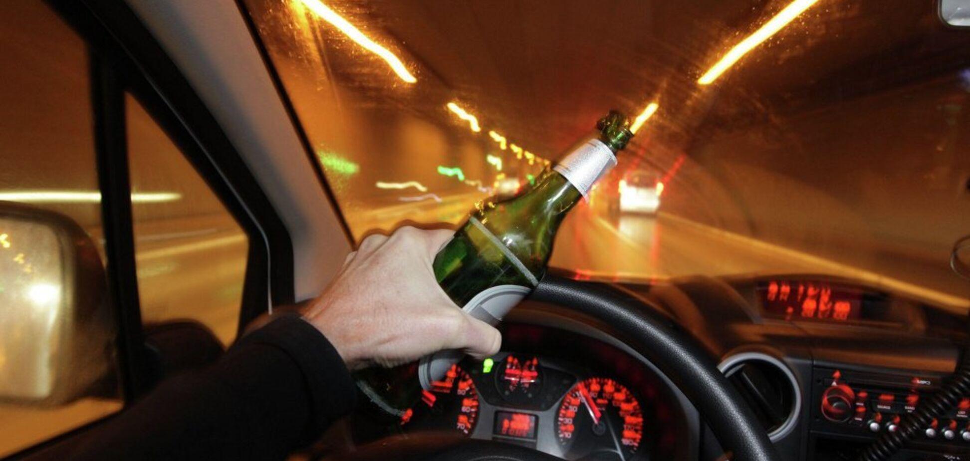 ''Накатить и поехать'': в Украине задержали 75 тысяч пьяных водителей