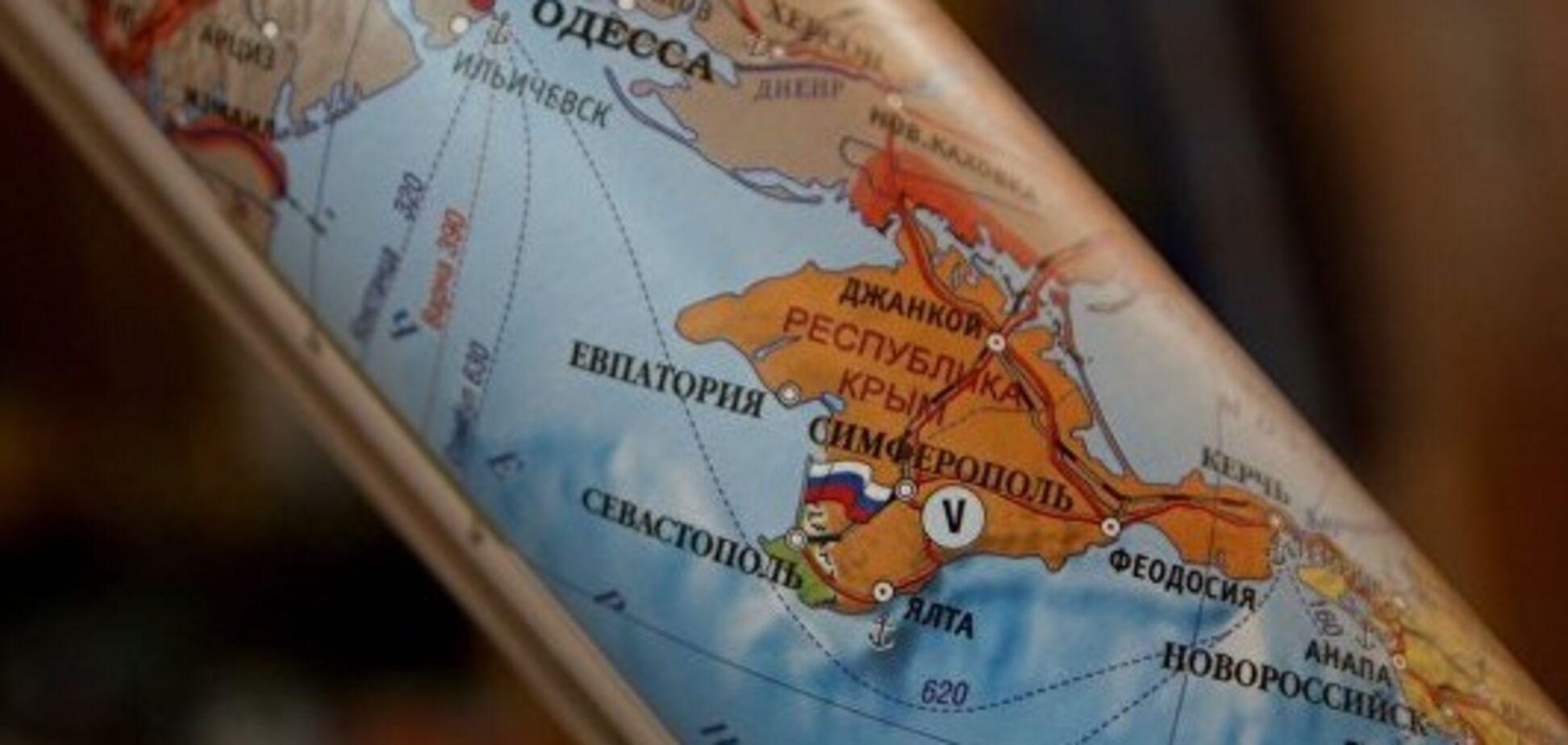 Сжечь старые карты? Россия пошла на масштабную аферу с краденным Крымом