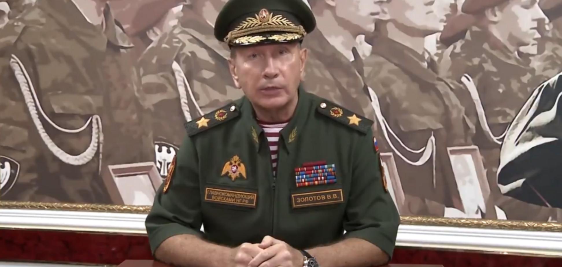 ''Соковита відбивна з Навального'': генерал Путіна зганьбився на відео з погрозами