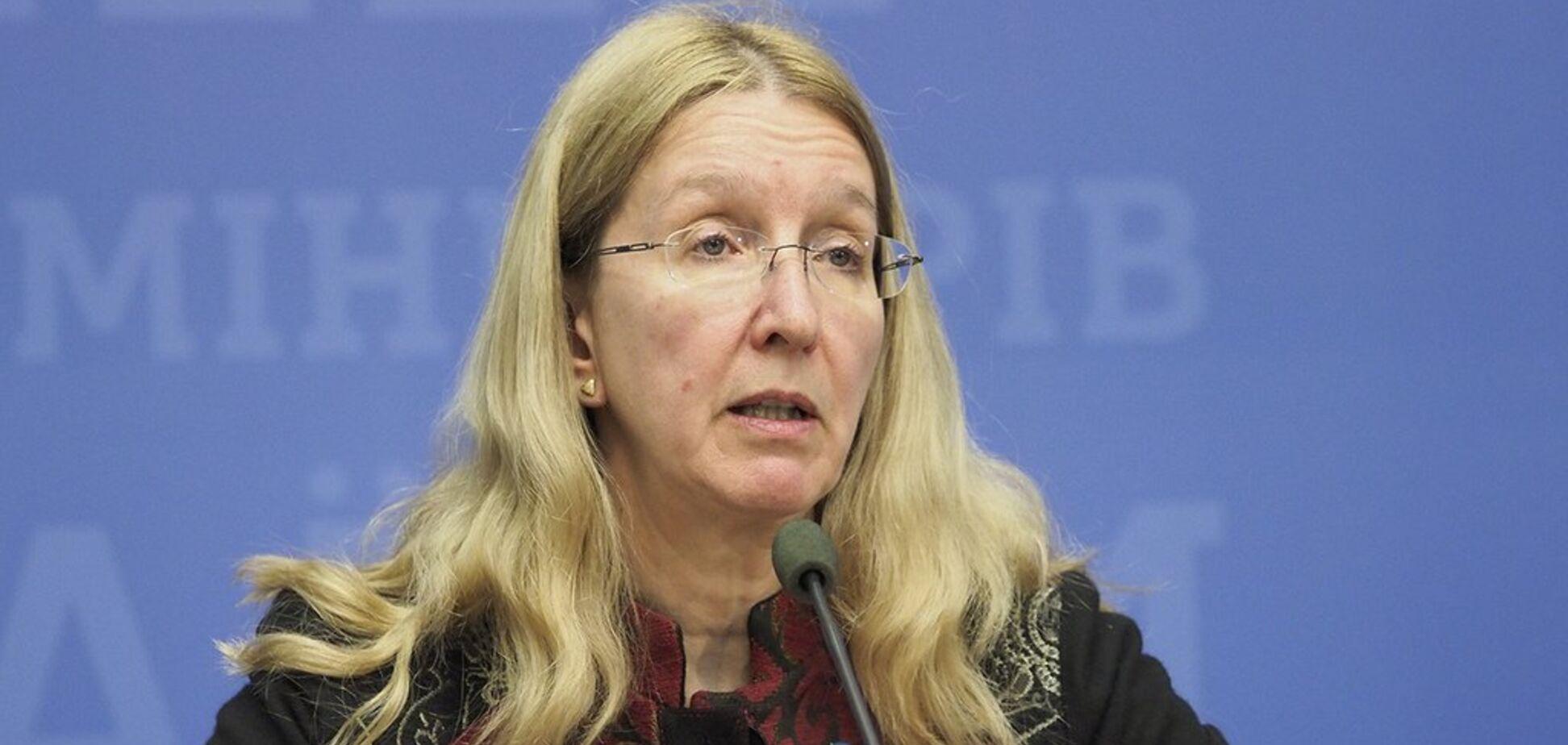 Бездействие Супрун и смерти детей в Украине