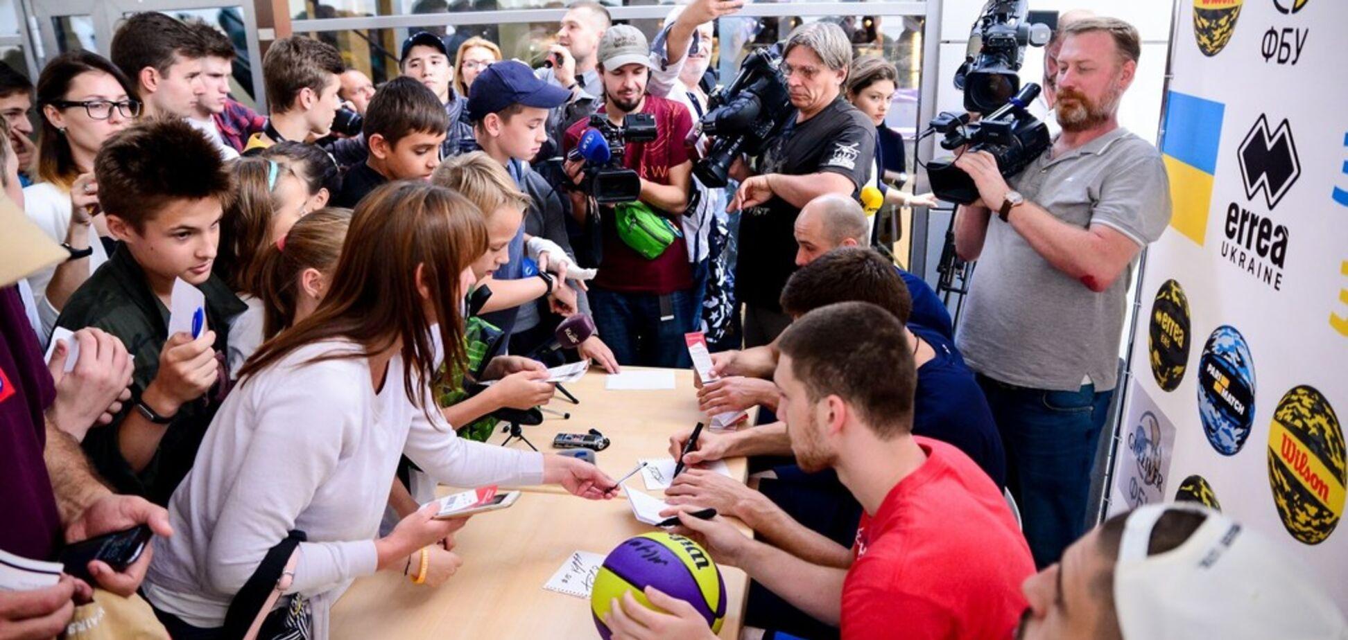 Баскетболісти збірної України викликали нереальний ажіотаж у Києві