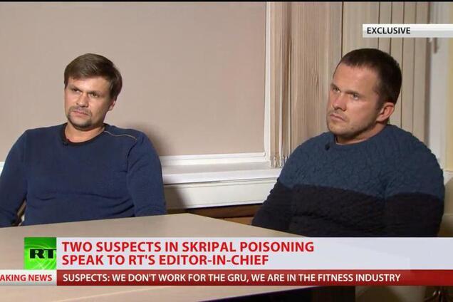 Исповедь ''отравителей'' Скрипаля: в Британии отреагировали на интервью пропагандистов Кремля
