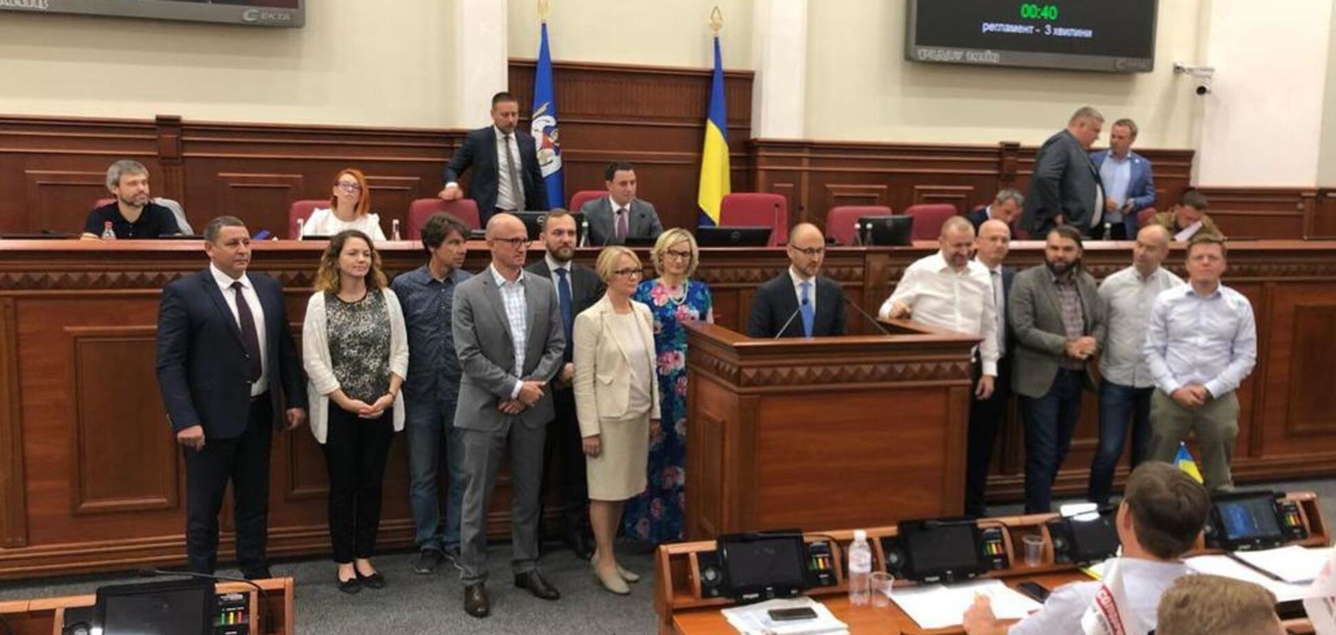 ''Самопоміч'' ліквідована: в Київраді з'явилася нова депутатська група
