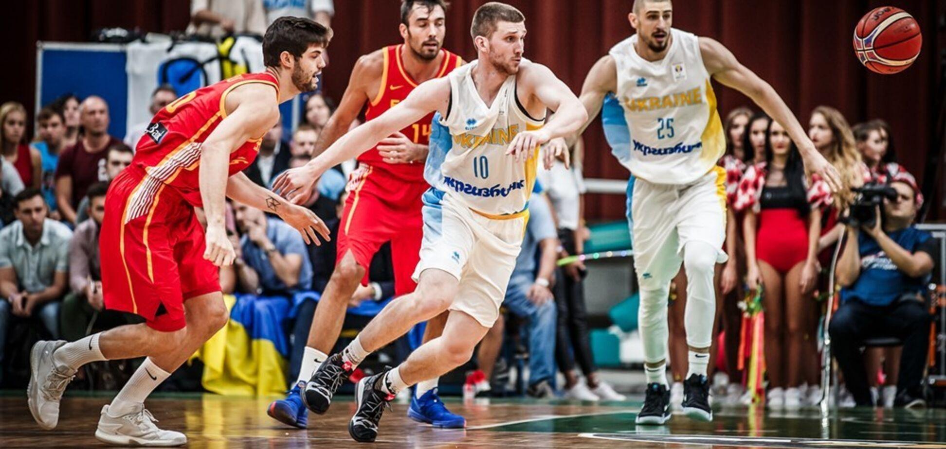 Сборная Украины по баскетболу эффектно разбила Испанию, собрав полный Дворец спорта