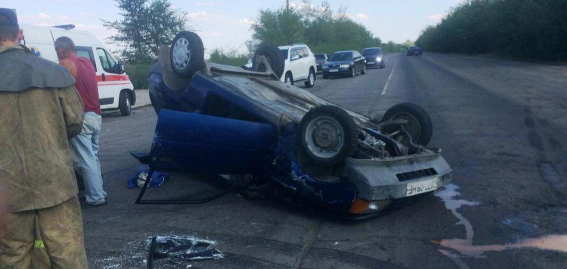 В Запорожье женщина оказалась в ловушке собственного авто
