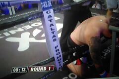 Непереможний український боксер нокаутував суперника в 1-му раунді