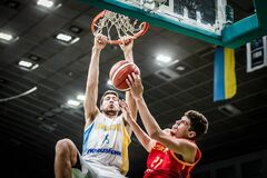 Момент за участю збірної України увійшов у топ-5 КС із баскетболу